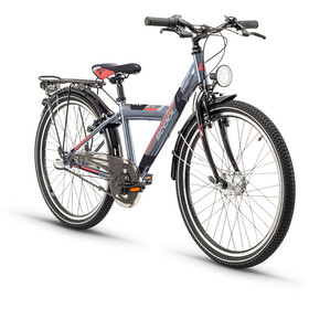 s'cool XYlite 24 3-S Childrens Bike Steel grey